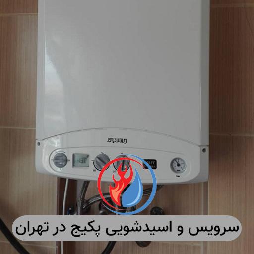 سرویس و اسید شویی پکیج در تهران
